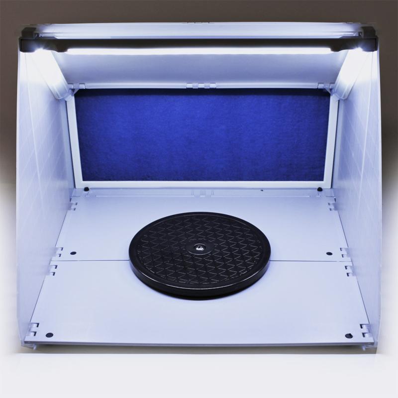 Airbrush draagbaar afzuigsysteem (met ledlicht)
