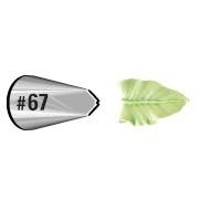 Wilton Icing tip #067 Leaf