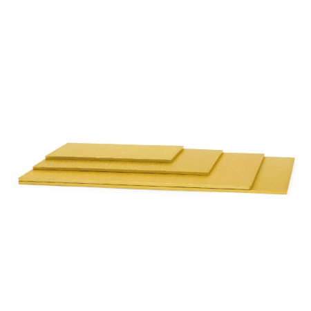 Cake drum Gold rechthoek 20 x 30 cm