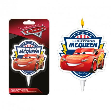 Cars 2D Kerze Lightning McQueen