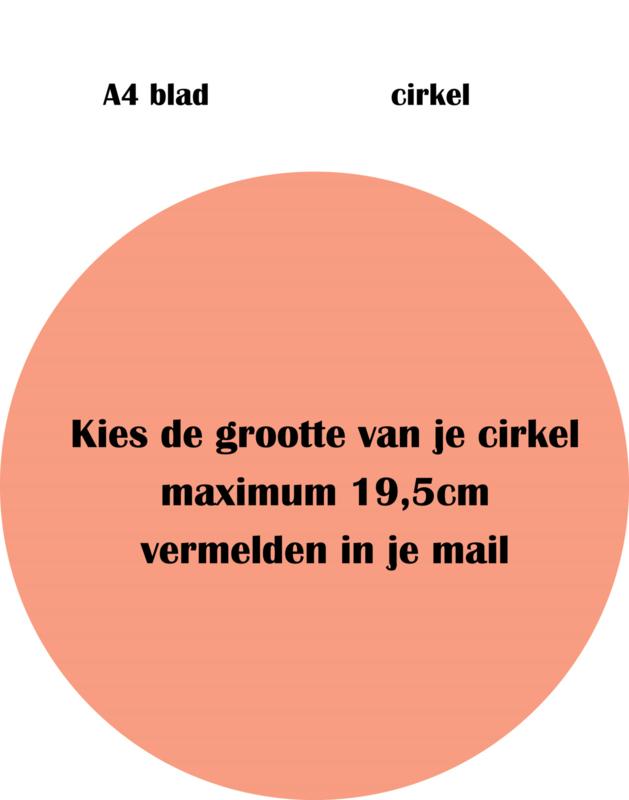 A4 cirkel