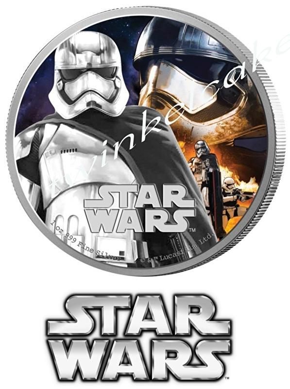 Essbare Bilder Star Wars Münze 2 - A3 (gross)