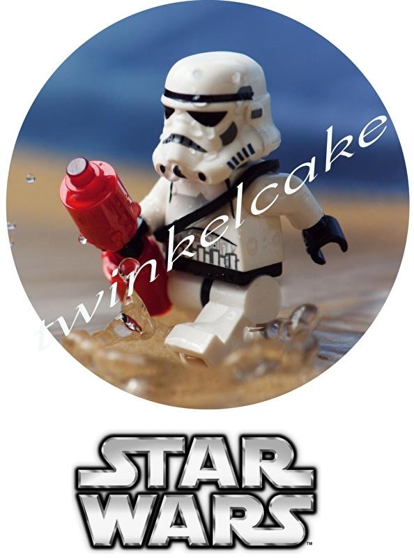 Taartprint lego star wars 1