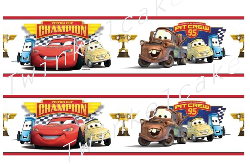Taartband cars 3