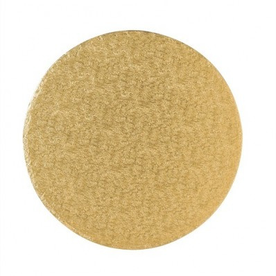 Cake drum Gold rond 20 cm per 5 st