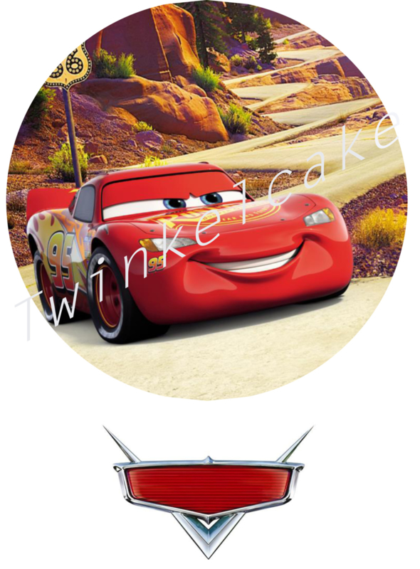 Essbare Bilder Cars 5 - A3 (gross)