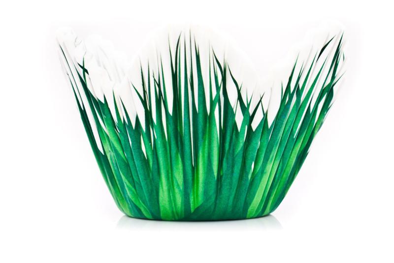 wilton petal baking cups grass 24 st