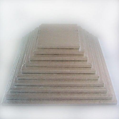 Cake drum carré 27.5 cm par 5 pcs