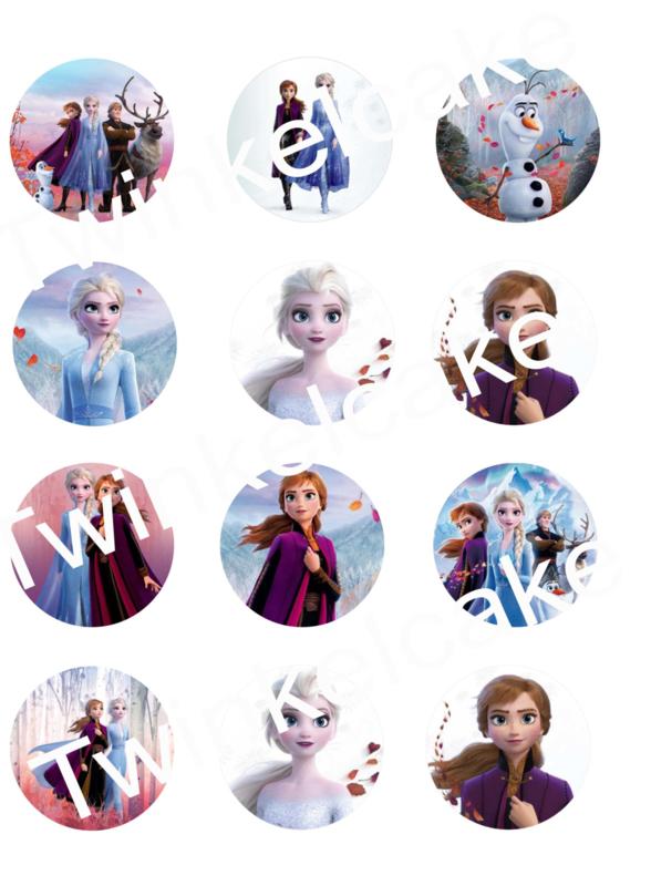 Frozen 2 cupcakeprints