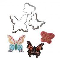 Butterfly uitstekerset 7 st (cake star)