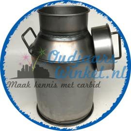 Melkbus 30L + deksel (nieuw)
