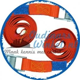 Spanbanden klein (oranje)