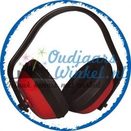 Rode oorbeschermers