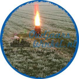 Komaansteker voor in melkbus