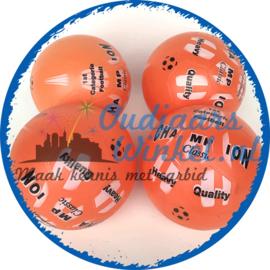 Champion voetbal | De originele carbid bal (4 stuks)