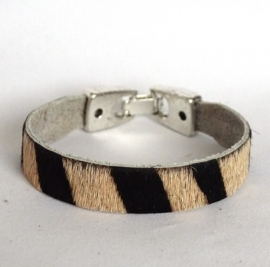 Armband dierenprint breed