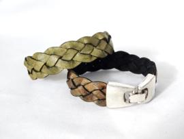 Gevlochten stoere armband