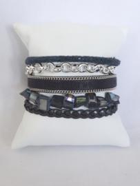 Hipanema armband donkerblauw