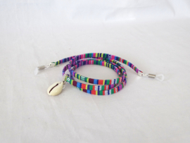 Gekleurd aztec zonnebril koordje / sunny cord