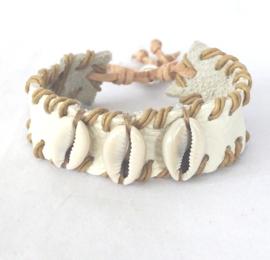 Kauri schelp-armband