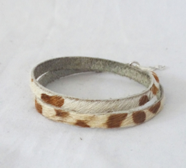 Koeienhuid armband