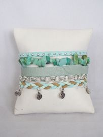 Hipanema armband mint