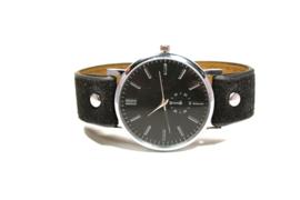 Horloge, zwart