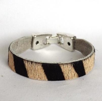 Armband dierenprint breed