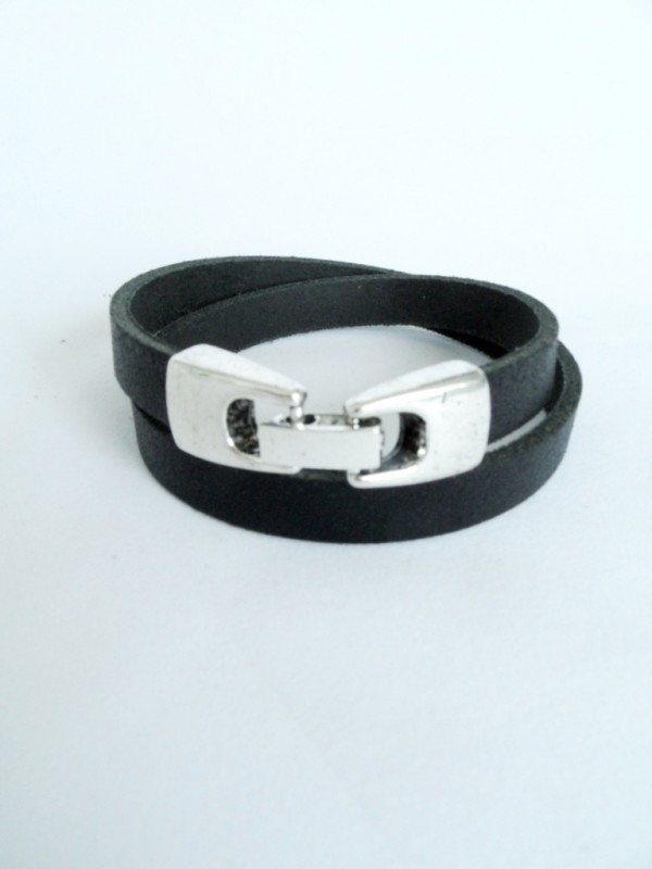 Armband met haak-klikslot (2x om pols)