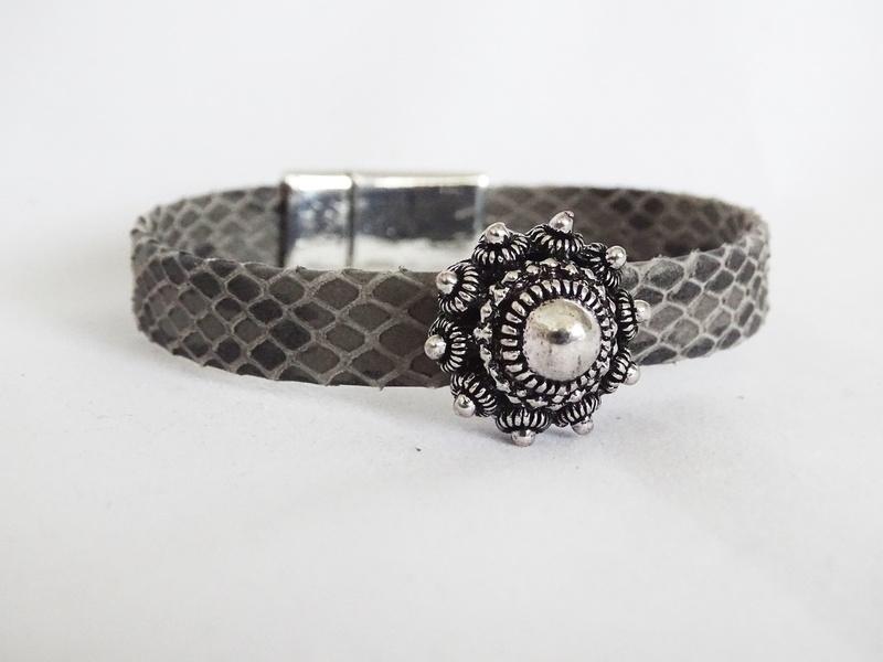 Armband met grote Zeeuwse knoop (2 cm)