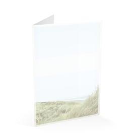 Duinlandschap/wolken