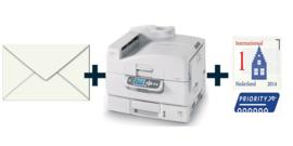 Adresseren + postzegel INTERNATIONAAL