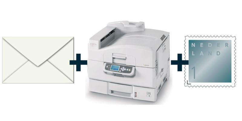 Adresseren + postzegel NEDERLAND