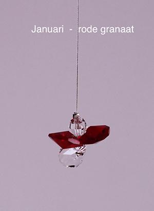 Januari (rode granaat)