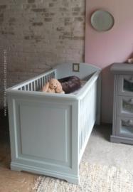 babykamer grijs zeegroen