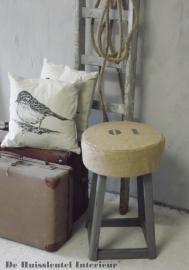 Stoere kruk ( verkocht )