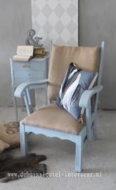 Brocante stoel/fauteuil