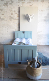 Peuterbed Vintage Blue