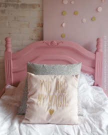 Roze bed