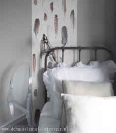 Brocante ijzeren bed