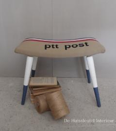 Retro kruk PTT Post ( verkocht )