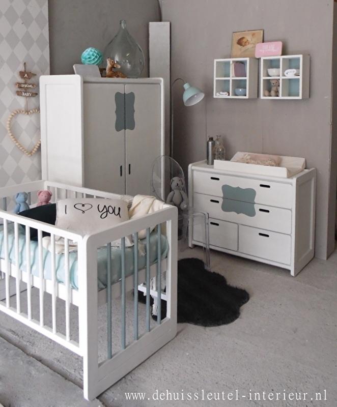 Vintage babykamer
