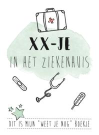 XX-JE Boekje - In het ziekenhuis-