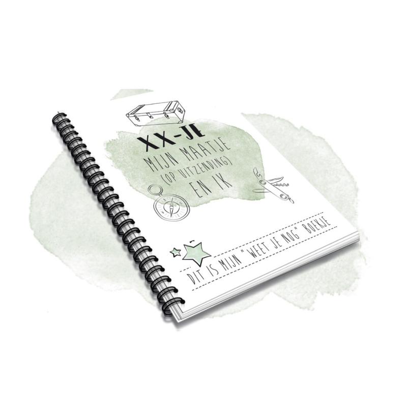 XX-JE Boekje -  Mijn maatje (op uitzending) en ik -