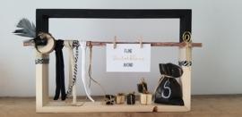 DIY Sint frames zwart