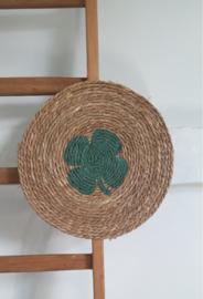 DIY rieten wandhanger