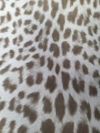 20. Bruine tijgerprint behang