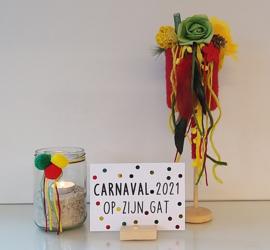 DIY Carnavals decoset
