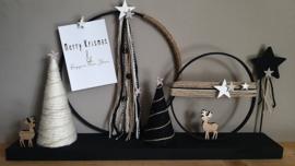 DIY Kerst decoratieplank (vanaf 20 oktober weer leverbaar)