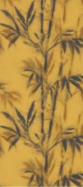 5. Okergeel plant behang